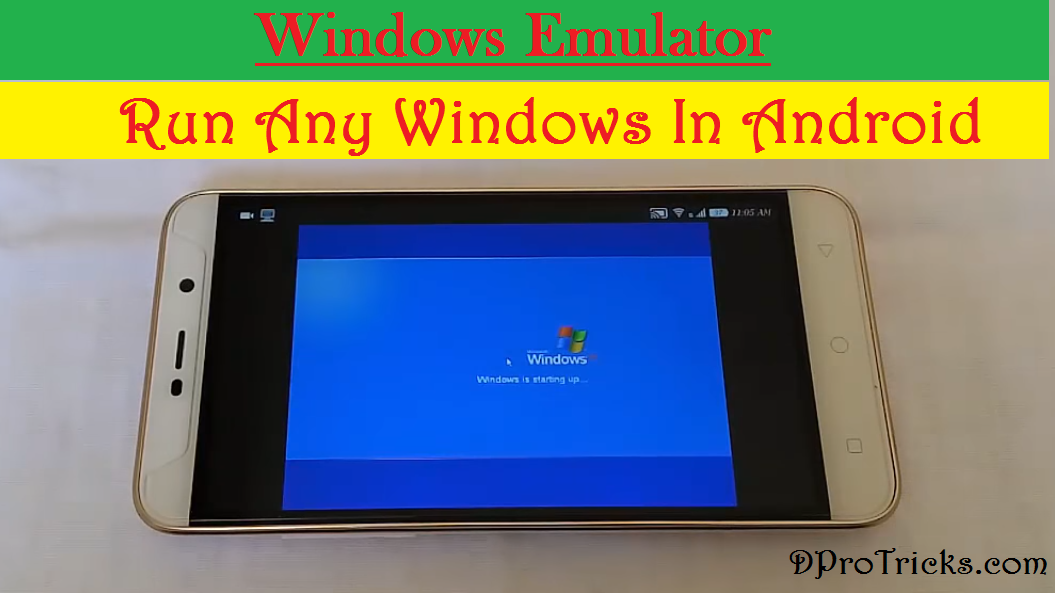 windows xp lite img para android