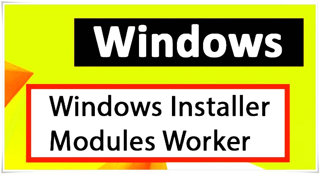 windows modules installer worker high cpu windows 10